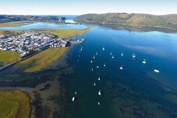 Thesen Island, Knysna Lagoon, Garden Route, Western Cape