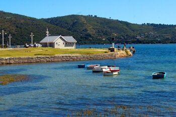 Thesen Island, Knysna, Garden Route, Western Cape